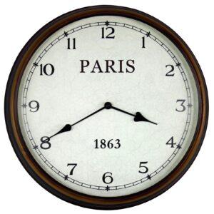 White Wall Clocks