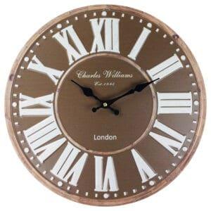 Brown Wall Clocks