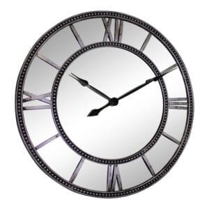 Silver Wall Clocks