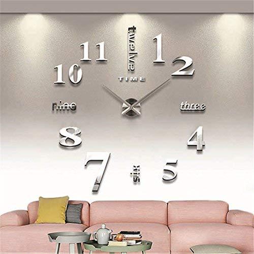 Mengwen Modern 3D Wall Clock