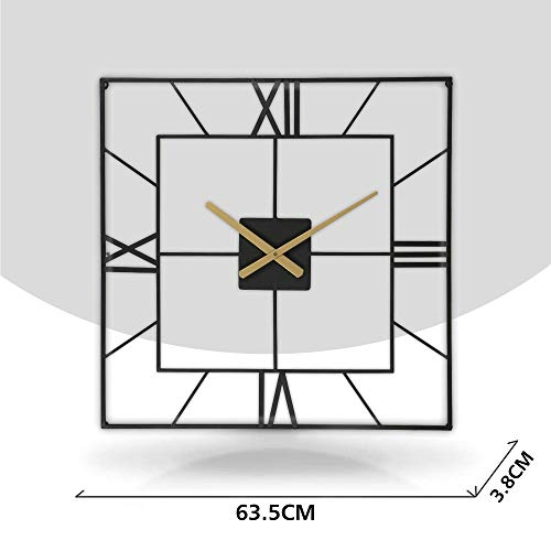 Large Square Kitchen Wall Clock