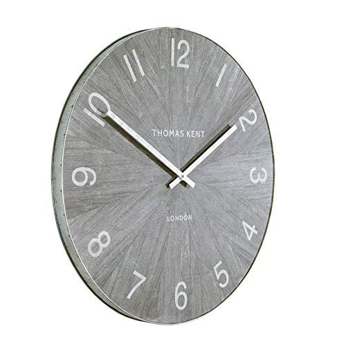Thomas Kent Wharf Large Grey Wall Clock