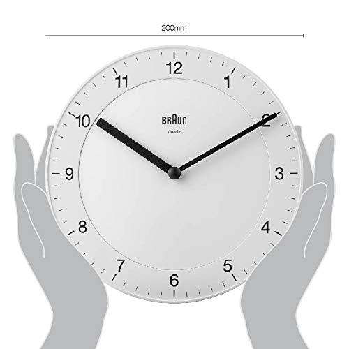Braun Classic Analogue White Wall Clock