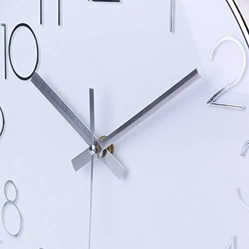 Jomparis Modern 12 Inch Wall Clock