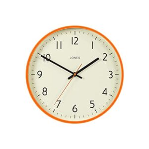 Jones Clocks Studio Large Round Wall Clock