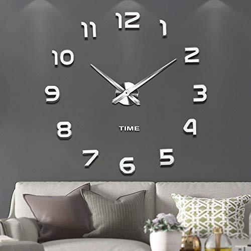 Vangold Modern Frameless Large Wall Clock
