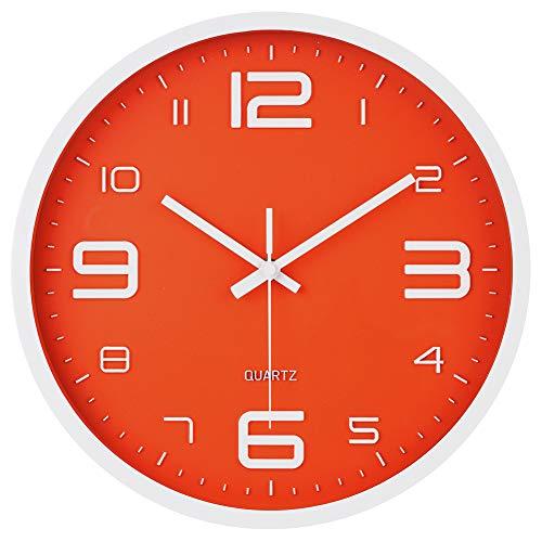 JoFomp 3D Number Dial Face Modern Wall Clock