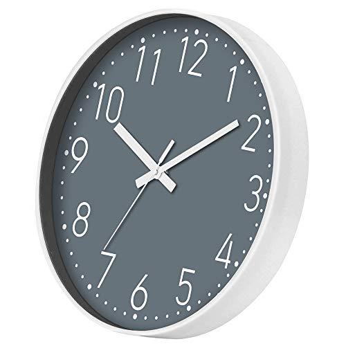 Yundo Grey Wall Clock