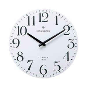 Nikky Home White Wall Clock