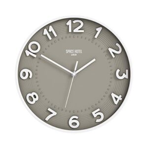 Meteor Mike Silent Wall Clock