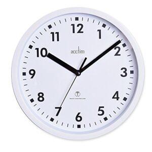 Acctim Nardo Radio Controlled White Wall Clock