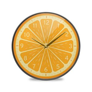 ALAZA Large Round Silent Wall Clock