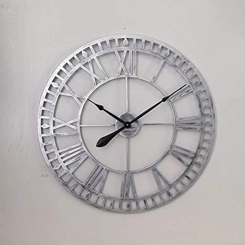 Industrial Retro Gear Metal Wall Clock