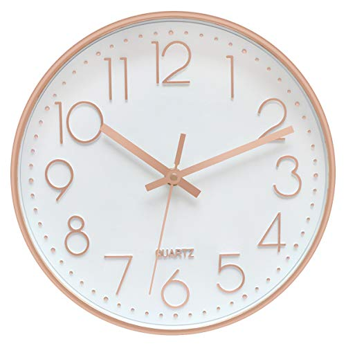 Foxtop Rose Gold Wall Clock