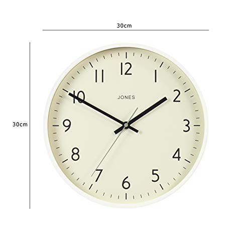Jones Clocks Large Round Wall Clock