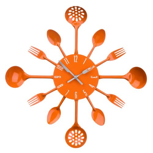 Premier Housewares 2200670 Cutlery Wall Clock