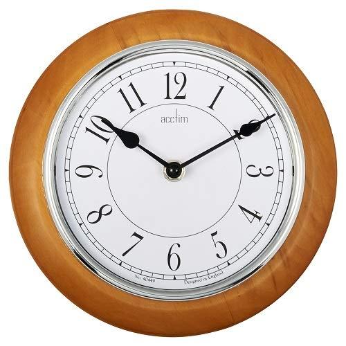 Acctim Newton Light Wood Wall Clock