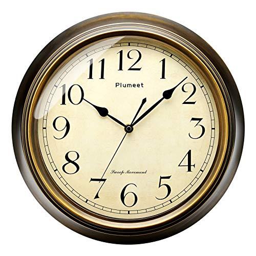 Plumeet Large Retro Wall Clock