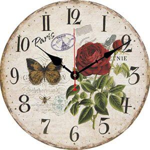 Beryart Round Wall Clock