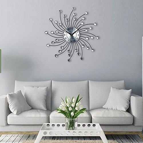 Timelike Diamond-Studded Wall Clock