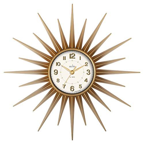 Acctim 21760 Stella Sprayed Wall Clock