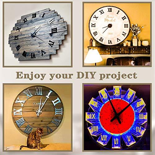Mute Frameless Large Wall Clock