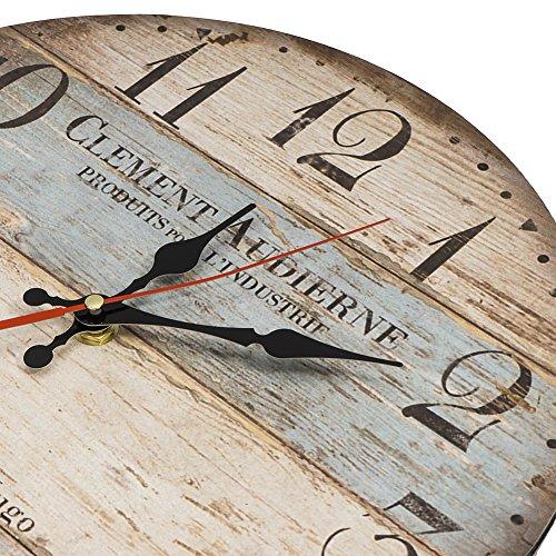Lohas Home Wooden Wall Clock