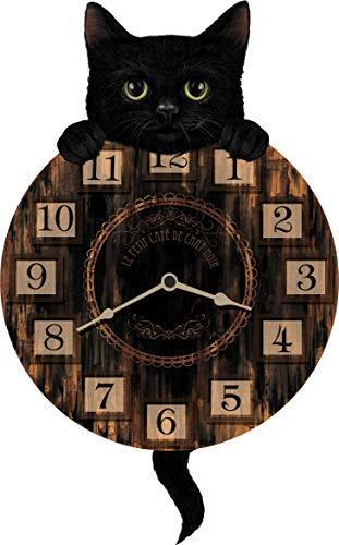 Nemesis Now Kitten Tickin' Clock 25cm Brown