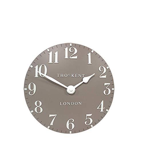 "Thomas Kent Arabic Design Clay Wall Clock - 12"" London"