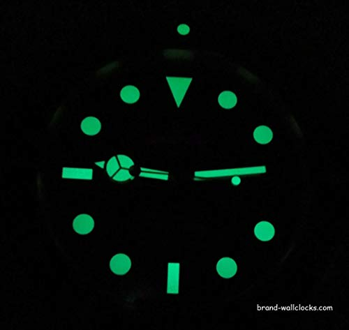 Rolex Replica Wall Clock with Rolex GMT Coke Design Red / Black
