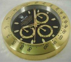 HAOYUN Rolex mute wall clock gold DAYTONA