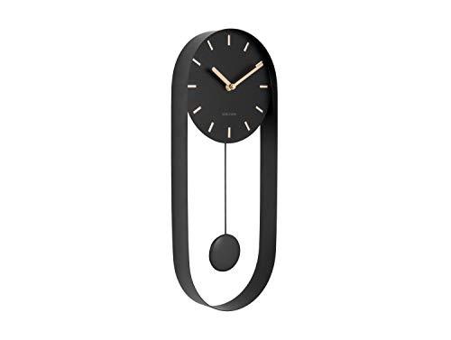 Karlsson Wall Clock - Charm Pendulum - Black