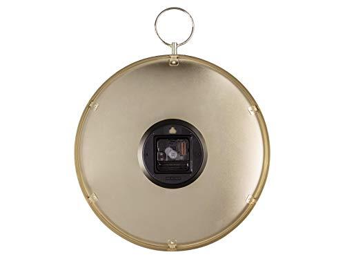 Karlsson 'HOOK' Wall Clock - 34cm Black (KA5765BK)