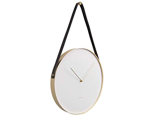"Karlsson ""BELT wall clock - 34cm White (KA5767WH)"