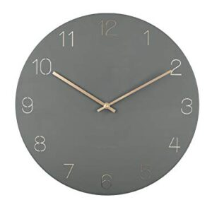 Karlsson Wall Clock 'Charm Engraved' 40cm - Jungle Green (KA5762GR)