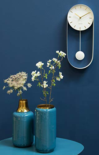 Karlsson Wall Clock - Charm Pendulum - White