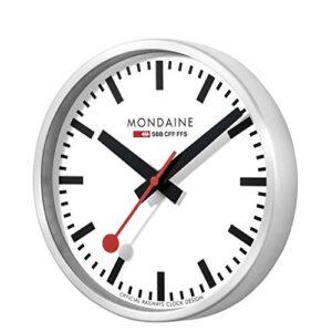 Mondaine Wall Clock Round Circular Saw Blades – A990. Clock. 16SBB