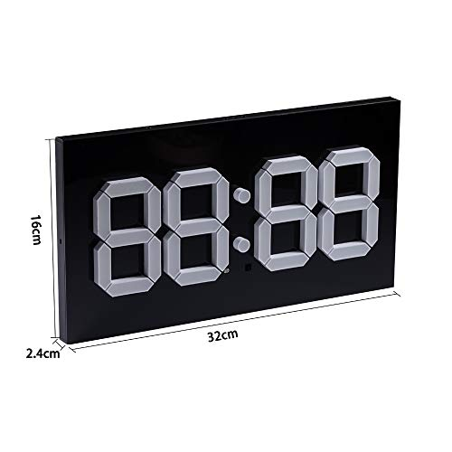 LED Programmable Wall Clock Digital Display GYM Timer Wall 14 inch Super big Stereo Screen Clock With Remote For Home Gym