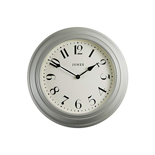 Jones Clocks® Large Wall Clock - The Cocktail Clock - Classic Design Perfect for Home/Kitchen/Living Room 40cm