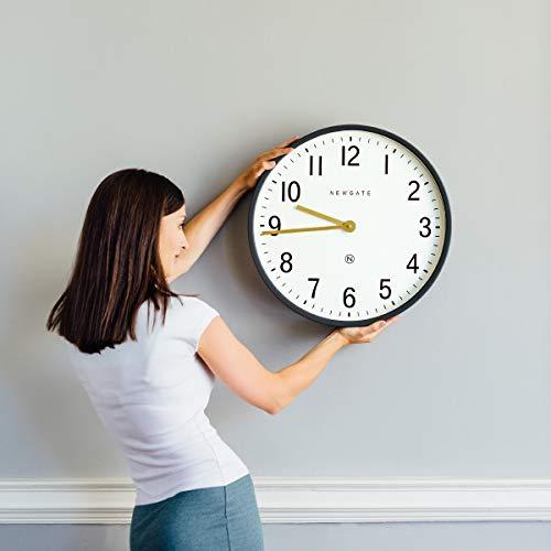 NEWGATE® Mr Edwards Large Metal Wall Clock | 45cm x 9cm (Grey)