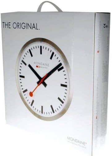 Mondaine A995.Clock,16SBB Analog Quartz Wall Clock