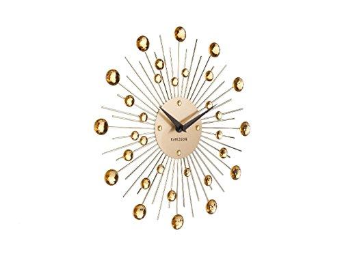 Karlsson sunburst Wall Clock - Gold