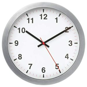 IKEA NUFFRA Wall Clock,Highly Accurate at Keeping time as it is Fitted with a Quartz Movement, 25 cm.