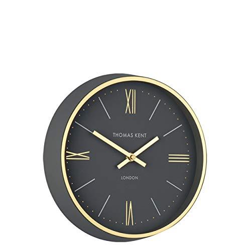 Thomas Kent 10'' Hampton Wall Clock Charcoal