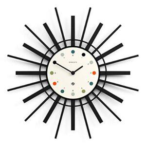 NEWGATE® Stingray Wall Clock | Modern | Cream & Black