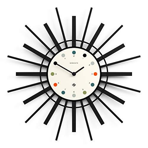 NEWGATE® Stingray Wall Clock   Modern   Cream & Black