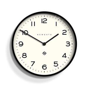 NEWGATE® Echo Number One Large Wall Clock | 53cm (Black)