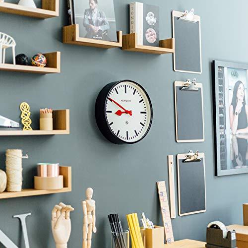 NEWGATE® The Luggage Metal Wall Clock (Black)
