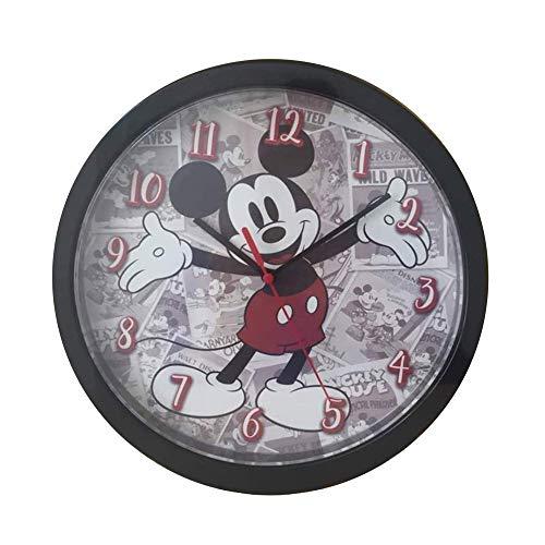 MICKEY MOUSE Wall Clock, Multicoloured, Unique