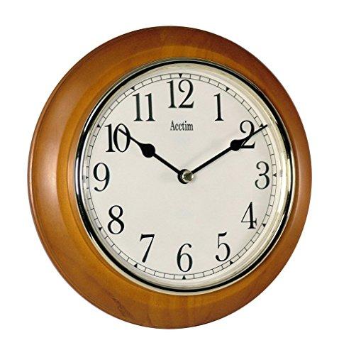 Acctim 24170 Maine Wall Clock, Cherry